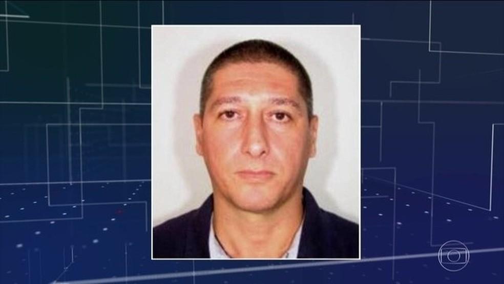 Ronnie Lessa, suspeito de matar Marielle Franco e Anderson Gomes — Foto: Reprodução/JN