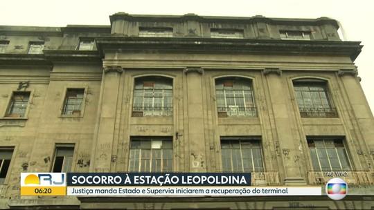 Justiça Federal dá prazo para início das obras de recuperação da Estação Leopoldina