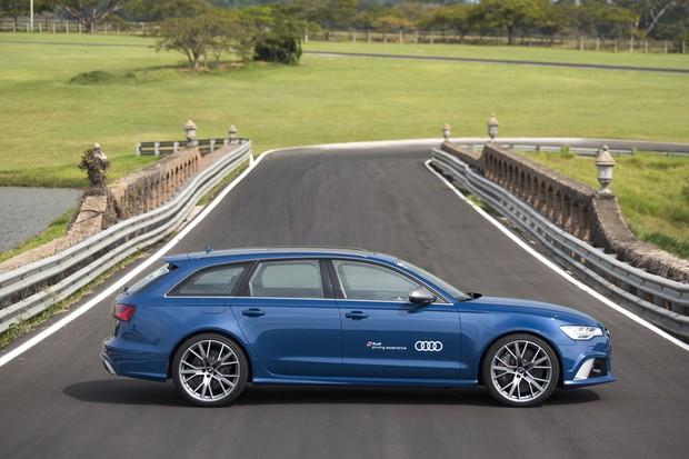 Audi RS6 (Foto: Bruno Guerreiro / O Globo)