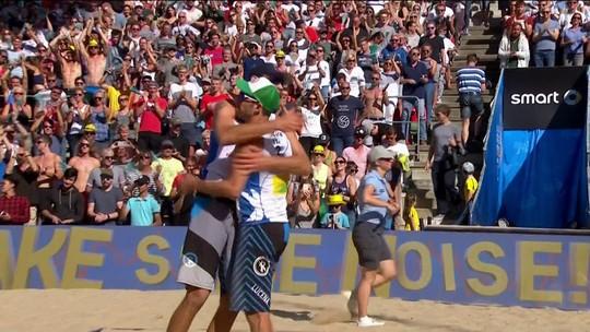 Evandro e André perdem para dupla  dos EUA e levam a prata na Alemanha