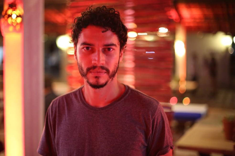 Lee Taylor vai interpretar Simplício, que se apaixonará por Maria (Foto: Gabriel Nascimento/Gshow)