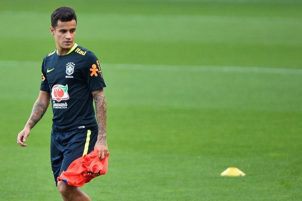 Coutinho deve começar no banco diante do Equador (Foto: Pedro Martins / MoWA Press)