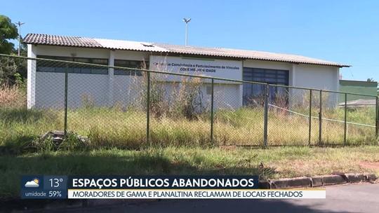 Locais públicos que poderiam ser usados para fins culturais estão abandonados