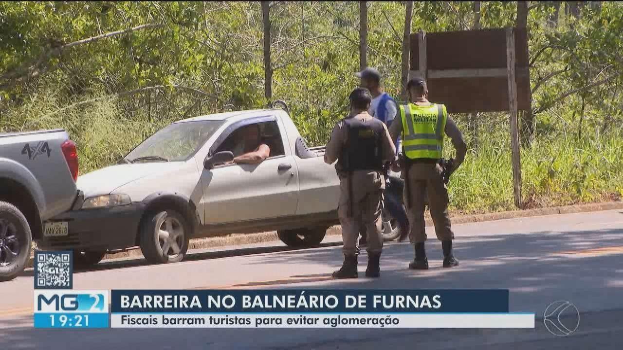 Fiscalização no balneário de Furnas é intensificada no Centro-Oeste de Minas