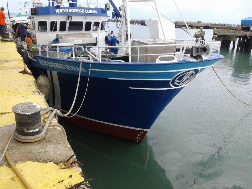 Empresa de pesca potiguar conseguiu liminar para enviar carga de pescado para a Espanha, mesmo com proibição nacional (Foto: Pesqueira Nacional/Divulgação)