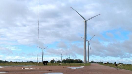 Energia eólica se torna fonte de renda extra para famílias no Sul do RS