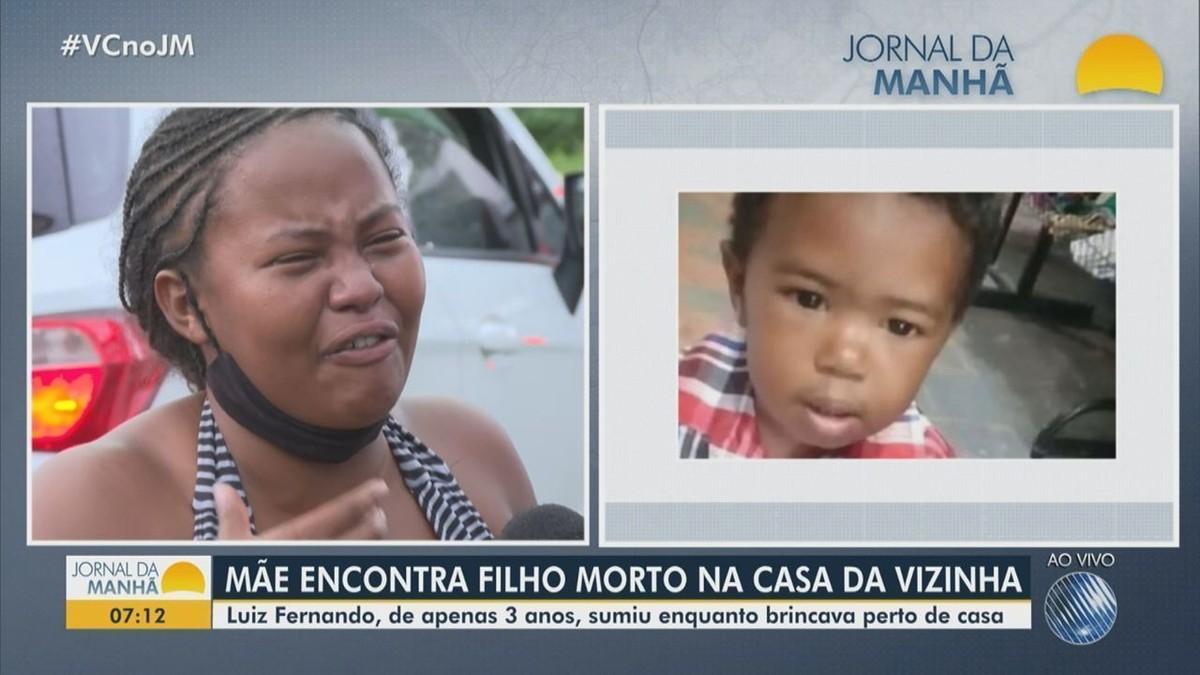 Criança de três anos é encontrada morta na casa de vizinha, em Salvador;  polícia investiga | Bahia | G1