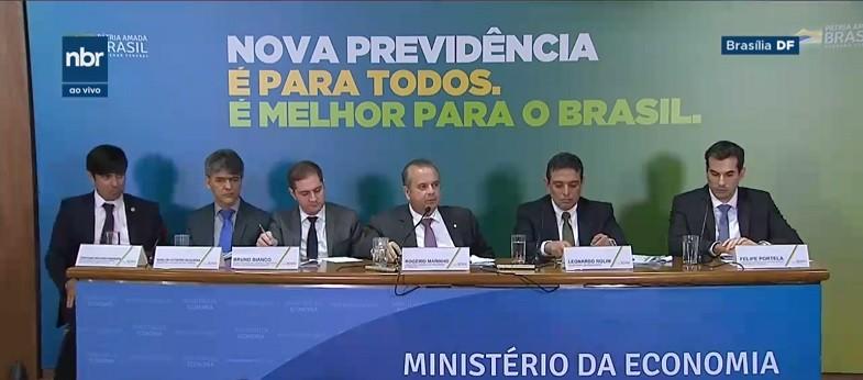 politica-apresentacao-reforma-previdencia (Foto: Reprodução/NBR)