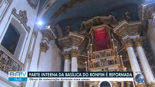 Após restauração, capela-mor da Basílica do Bonfim é entregue para católicos e turistas