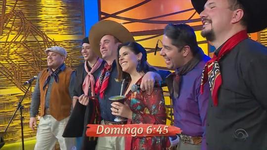 Paullo Costa e Grupo Tá Agarrado e Trio Rédea Solta são as atrações musicais do 'Galpão Crioulo'