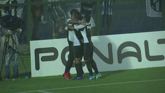 Os gols de Santos 5 x 1 Sergipe pela Copa SP de futebol júnior