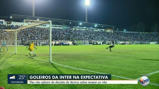 Fim do revezamento: novo técnico da Inter define Rafael Pin como titular na estreia da Copa Paulista