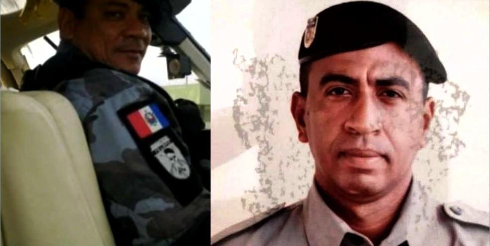 Sargento Valterly Barbosa de Lima e soldado Ivanilton Leão de Farias — Foto: Reprodução/TV Gazeta
