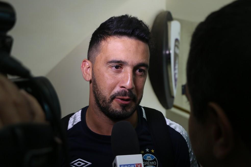 Edilson está acertado com o Cruzeiro (Foto: Eduardo Moura)