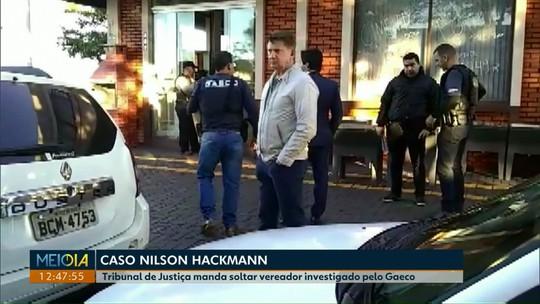 Tribunal concede liberdade provisória ao vereador Nilson Hackmann