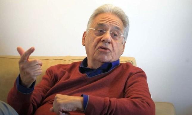 O ex-presidente Fernando Henrique Cardoso  (Foto: Marcos Alves / Agência O Globo)