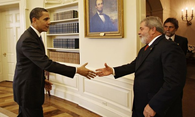 Barack Obama e Lula