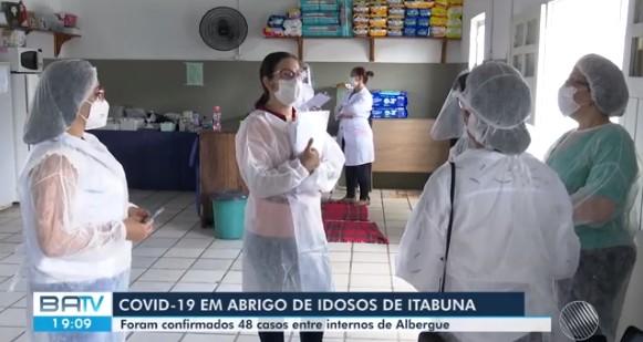 Quase 50 internos testam positivo para Covid-19 em abrigo em Itabuna, no sul da Bahia