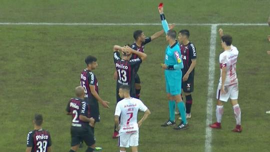 Raphael Veiga leva terceiro amarelo, Lodi é expulso, e não jogam contra o Cruzeiro