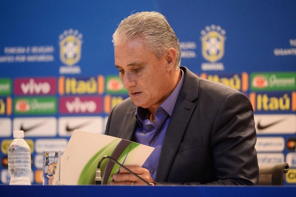 Tite convoca 25 nomes para a convocação (Foto: Pedro Martins/MoWA Press)