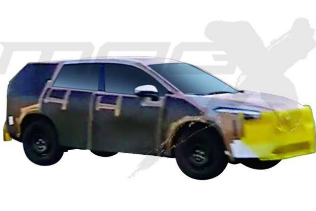 Side japonês mostra primeiras imagens do SUV baseado no Corolla (Foto: Reprodução/Carsensor)