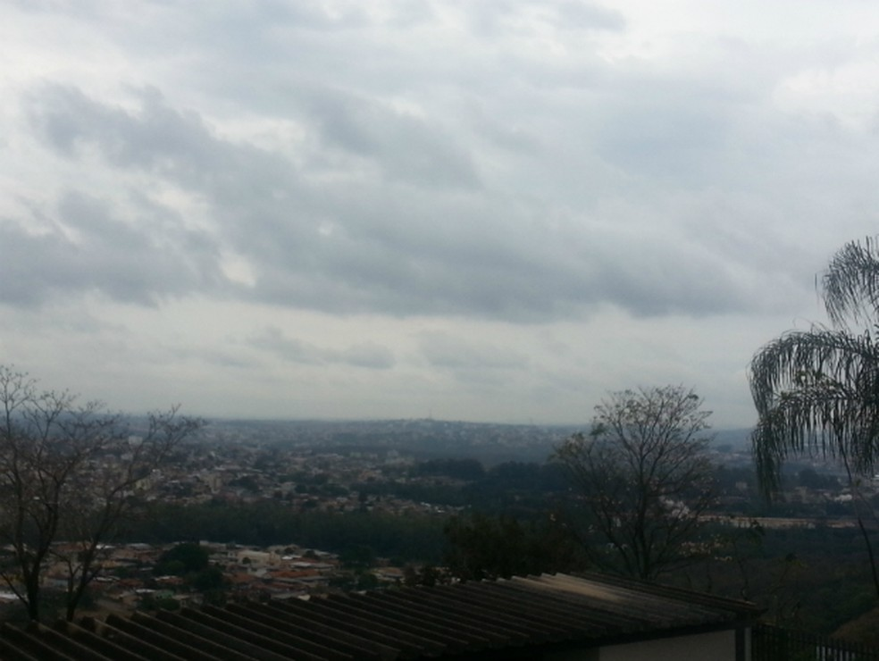 -  Cidades do Centro-Oeste de Minas ficam com céu nublado durante a semana  Foto: Thulio Oliveira/G1