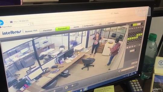 Preso suspeito de fazer funcionários de centro de distribuição reféns por 40 minutos e roubar R$ 23 mil; veja vídeo