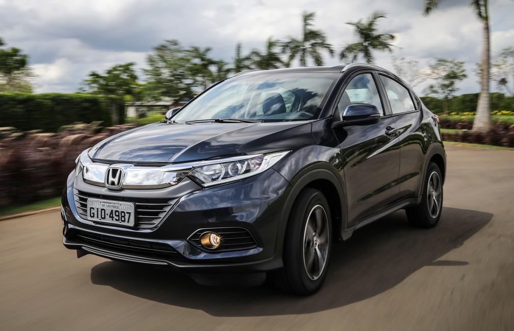 e8324f0d8 Honda HR-V muda pouco na linha 2019 e preço sobe em até R  3 mil ...