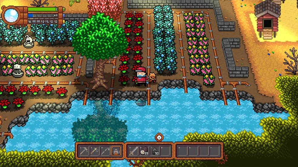 Após um breve atraso, Monster Harvest traz seus monstrinhos e plantas para os consoles e PC — Foto: Reprodução/Nintendo Game Store