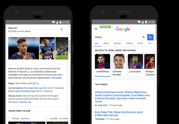 Jornada em tópicos relacionados, novo recurso do Google (Foto: Divulgação)