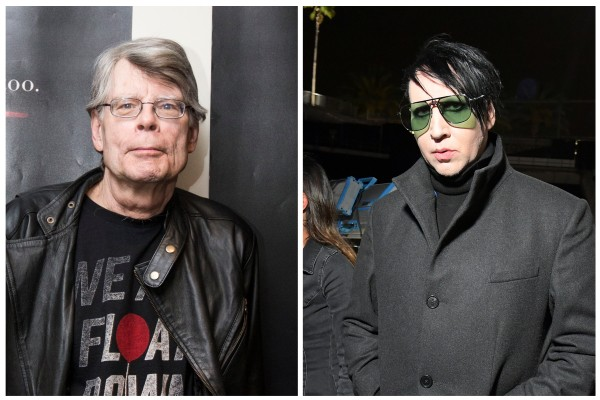 Stephen King e Marilyn Manson (Foto: Getty Images)