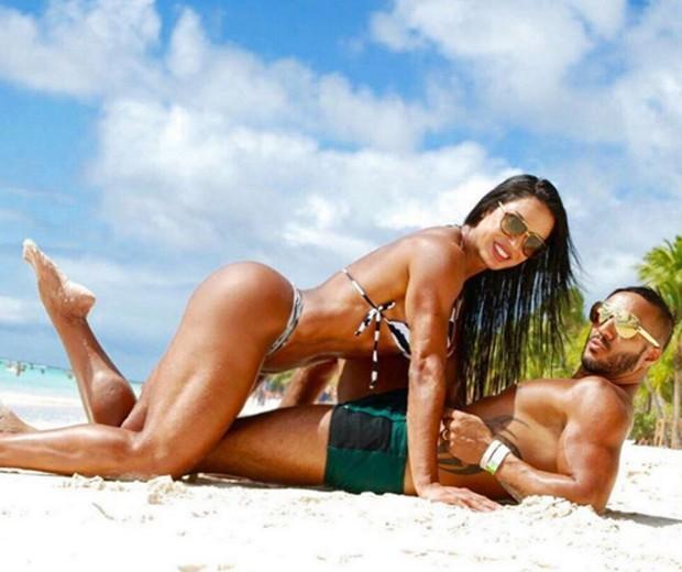 Gracyanne Barbosa e Belo (Foto: Reprodução/Instagram)