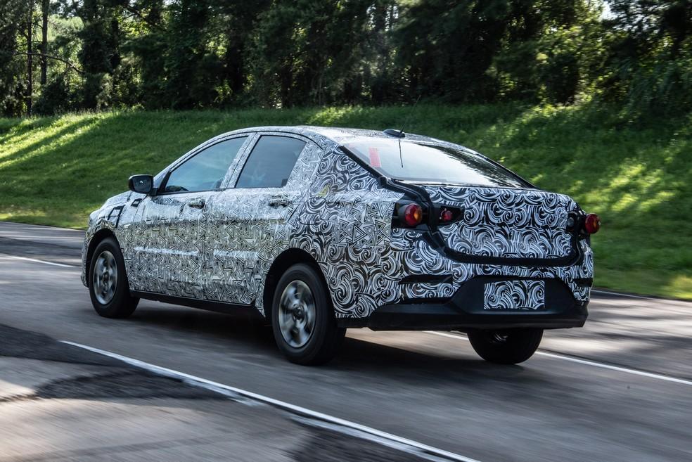 Novo Chevrolet Prisma — Foto: Divulgação/Chevrolet