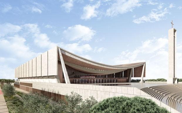 David Adjaye projeta a catedral nacional de Gana (Foto: Divulgação)
