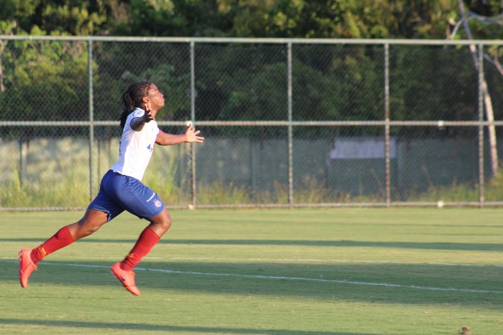 Daniel é um dos destaques da equipe sub-20 — Foto: Rafael Machaddo / EC Bahia