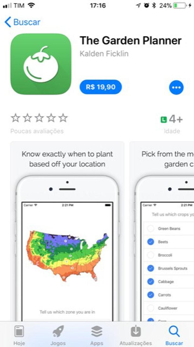 aplicativos para cuidar de plantas (Foto: Divuglação/Reprodução)