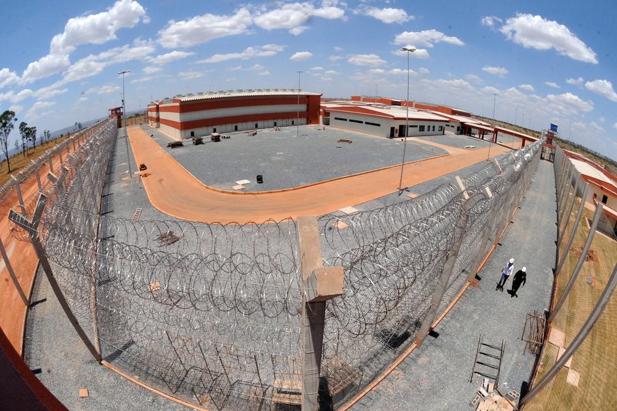 Obra de penitenciária federal de Brasília fica pronta nesta segunda, diz MJ