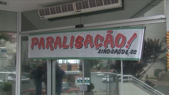 Servidores de hospitais paralisam em seis cidades de SC por 24 horas