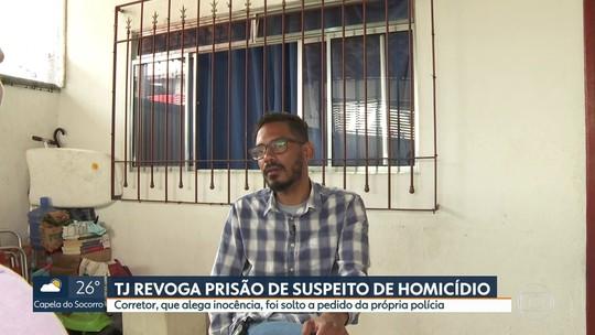 TJ revoga prisão de suspeito de matar policial aposentado a pedido de delegado