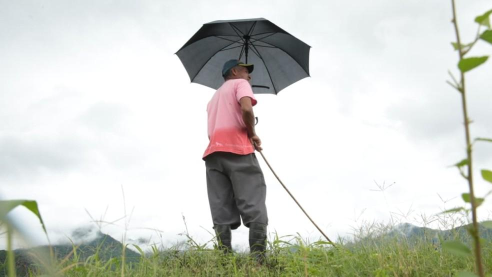 Prognóstico da Funceme é mais otimista em relação a bom volume de chuva dos últimos anos — Foto: José Leomar/SVM
