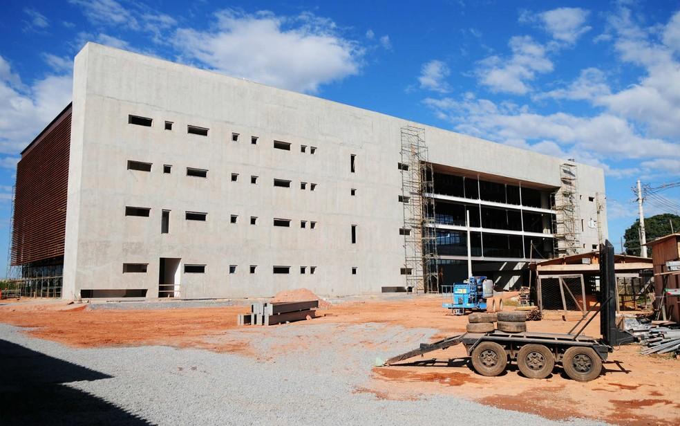 Edifício de governança do Parque Tecnológico Biotic, em Brasília, em imagem de julho de 2017 (Foto: Dênio Simões/Agência Brasília)