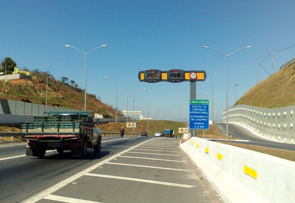 Rodovias estaduais terão 598 novos radares, em Minas