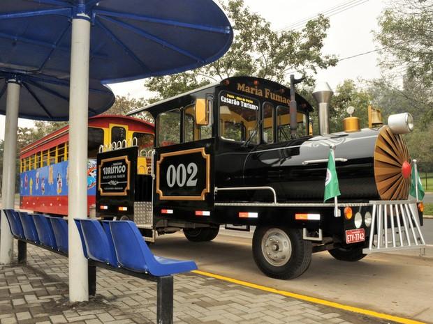 Trem turístico de Piracicaba vai começar a funcionar neste domingo (16), às 10h. (Foto: Justino Lucente/Prefeitura)