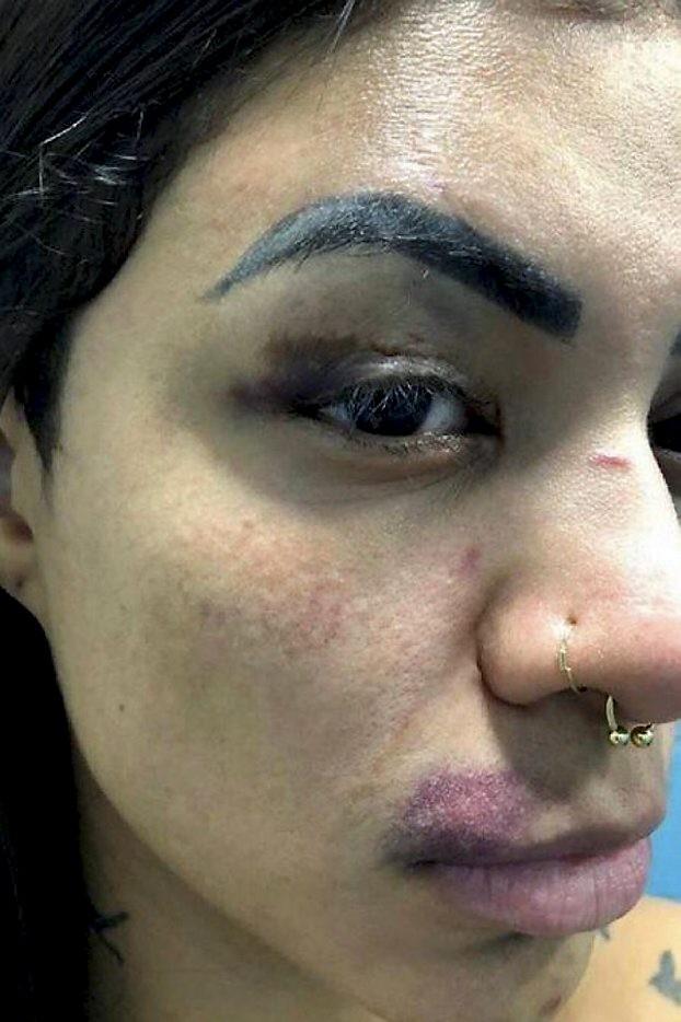 juíza Rachel Assad  converteu a prisão em flagrante em prisão preventiva de Francimar Jorge Cavalcante, acusado de agredir e manter em cárcere privado a  MC Marcelly