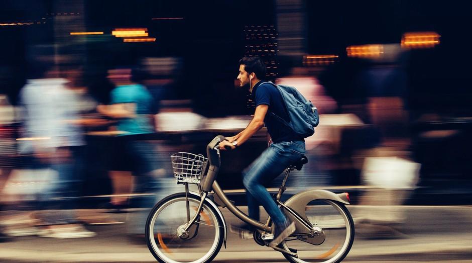 biclicleta, rua (Foto: Reprodução/Pexels)