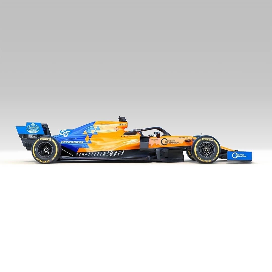 McLaren MCL34 (Foto: Reprodução: Instagram)