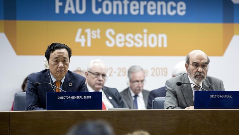 fao-eleicao-graziano-dongyu (Foto: FAO)