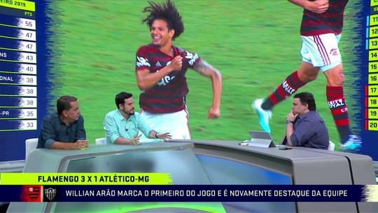 """Comentaristas elogiam padrão de jogo do Flamengo de Jesus: """"Evoluiu os jogadores"""""""