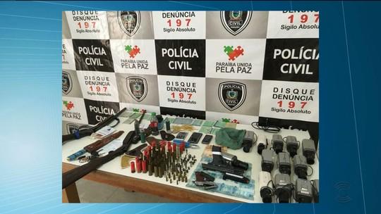 Trio é preso suspeito de explodir dois bancos e matar vigilante na Paraíba