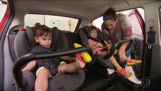 Mortes de crianças em estradas caíram quase 20% desde início de multas por falta de cadeirinha, diz estudo